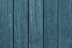 Tablones de madera grises y azules de la tabla de roble Tableros de madera pintados azul Textura del fondo de madera de pino tabl imágenes de archivo libres de regalías