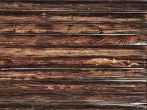 Tablones de madera marrones vibrantes fotografía de archivo libre de regalías