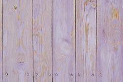 Tablones de madera púrpuras Fotos de archivo libres de regalías