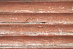 Tablones de madera pintados viejos Fotos de archivo