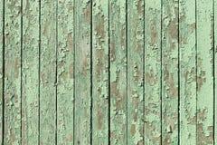 Tablones de madera pintados viejos Fotografía de archivo