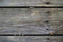Tablones de madera resistidos viejos Foto de archivo libre de regalías