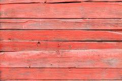 Tablones de madera rojos de Pld Foto de archivo