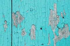Tablones de madera viejos con agrietado Fotografía de archivo