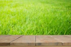 Tablones de madera viejos con imagen borrosa Fotografía de archivo
