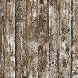Tablones de madera viejos pintados con la pintura Imagen de archivo libre de regalías