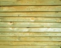Tablones viejos de madera de pino como fondo Foto de archivo libre de regalías
