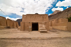 Tabo monastery houses Royalty Free Stock Images