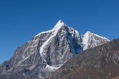 Taboche mountain peak Stock Photo