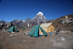 Taboche peak (6,367m) Nepal Stock Photos