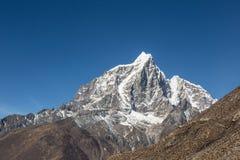 Taboche Peak in Nepal stock photos