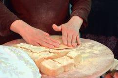 Taboon bread Royalty Free Stock Photo