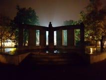Tabor bij nacht stock foto