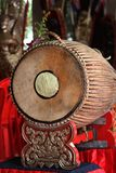 Tabor drum(two-faced drum) Stock Photography