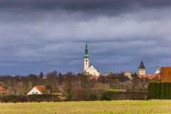Tabor miasto cesky krumlov republiki czech miasta średniowieczny stary widok fotografia royalty free