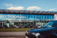 Tabor Mobile German Car Dealer in Baden-Wurtemberg Royalty Free Stock Image
