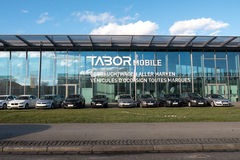 Tabor Mobile German Car Dealer in Baden-Wurtemberg Royalty Free Stock Photography