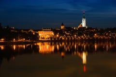 Tabor, Tsjechische Republiek stock afbeeldingen