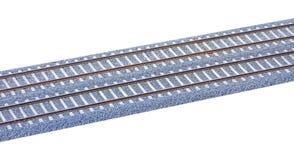 Taborowa linia kolejowa Zdjęcie Stock
