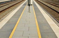 Taborowa platforma Zdjęcie Royalty Free
