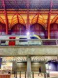 Taborowy czekanie w Antwerp centrali Zdjęcie Stock