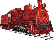 Taborowy lokomotoryczny wektor Zdjęcia Royalty Free