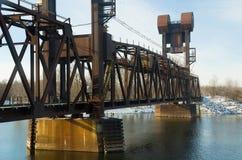 Taborowy most Zdjęcia Stock