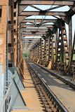 Taborowy most Zdjęcia Royalty Free