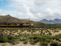 Taborowy skrzyżowanie preria w Nowym - Mexico usa Obrazy Royalty Free