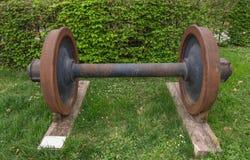 Taborowy wheelset Zdjęcia Royalty Free