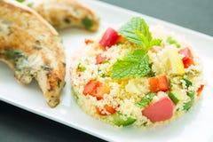 Taboulé salad Stock Photo