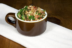 Tabouleh in a bowl Royalty Free Stock Photography