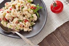 Tabouleh, een cousous salade Royalty-vrije Stock Afbeelding