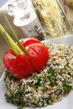 Tabouleh middle eastern salad Royalty Free Stock Image