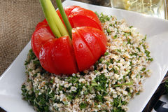 Tabouleh middle eastern salad Stock Image