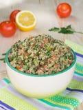 Tabouli avec le quinoa Photographie stock libre de droits