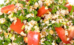 Tabouli Salad Closeup Royalty Free Stock Photo