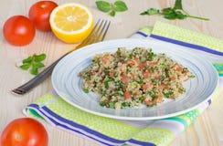 Tabouli-Salat Lizenzfreie Stockbilder