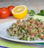 Tabouli - vegetarischer libanesischer Salat Stockbild