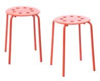 petit tabouret rouge illustration stock illustration du r tro 49965793. Black Bedroom Furniture Sets. Home Design Ideas