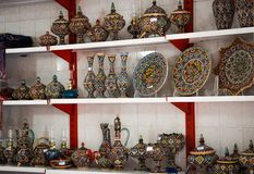 Tabriz, Kandovan, pratos tradicionais iranianos bonitos de Irã fotografia de stock