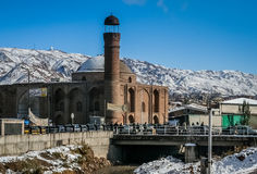 Tabriz mosque Royalty Free Stock Image