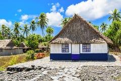 Tabuaeran, avivando la isla foto de archivo libre de regalías
