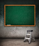 Empty chalkboard Stock Images