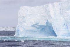 Tabular glacial ice Stock Image