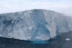 Tabular iceberg Royalty Free Stock Photo