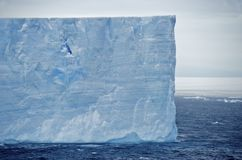 Tabular Iceberg Antarctica Royalty Free Stock Photos