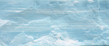 Tabular iceberg striations Royalty Free Stock Photos