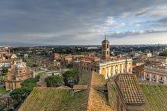 Tabularium - Roma, Italia foto de archivo
