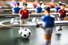 Tabule el partido de fútbol fotografía de archivo libre de regalías